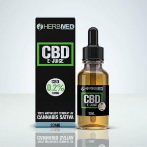 herbmed cbd e-juice sverige