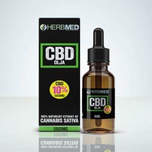 CBD olja Herbmed 10%