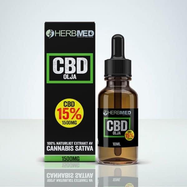 CBD olja 1500