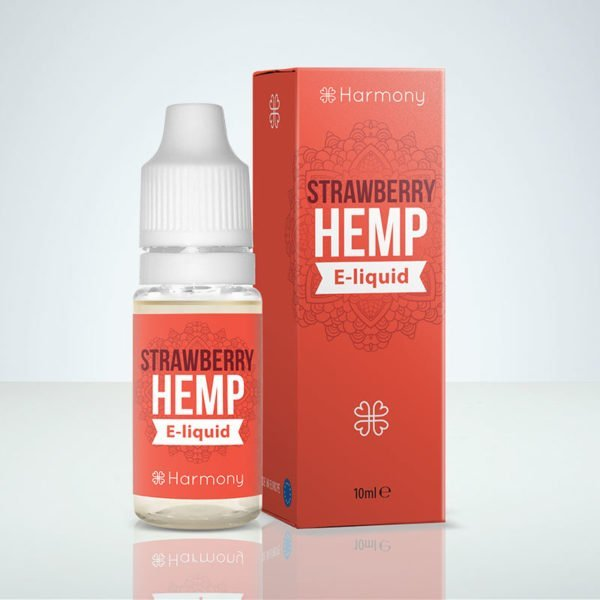 Strawberry hemp harmony CBD Sverige