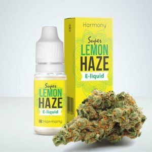 CBD E-juice olja lemon haze