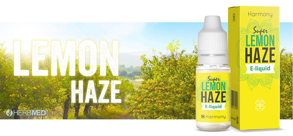 Herbmed Lemon Haze CBD E-juice Vape