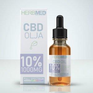 CBD olja Herbmed handla Sverige 15%