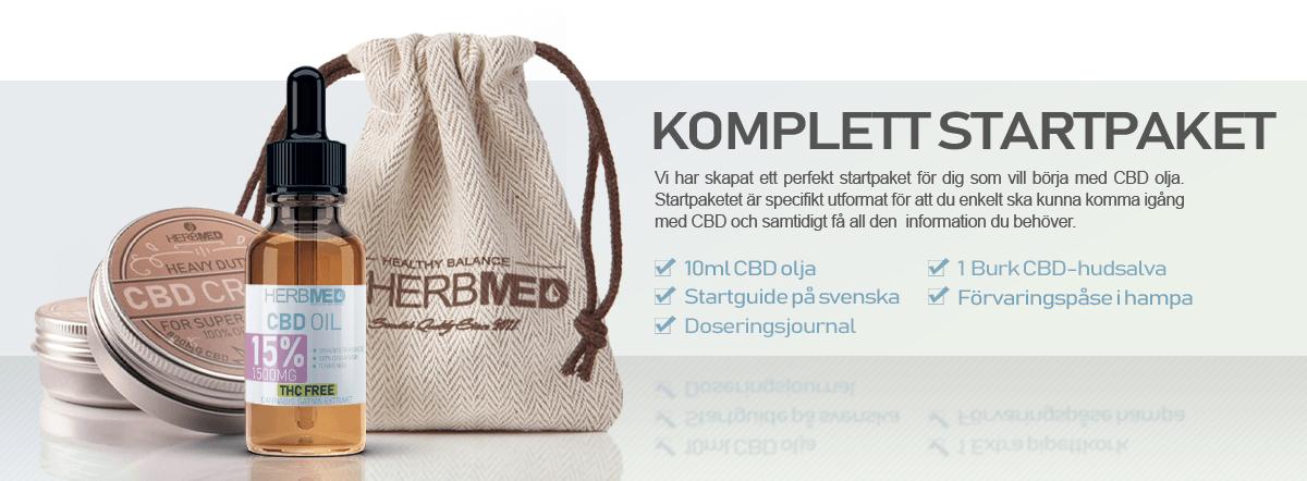 CBD startpaket Herbmed