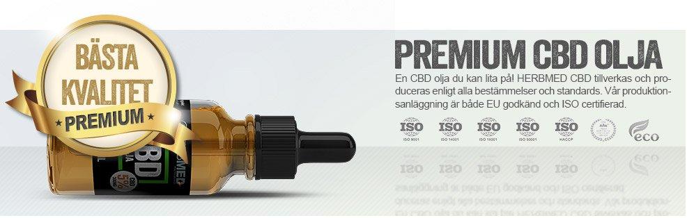 Premium Svensk CBD Olja