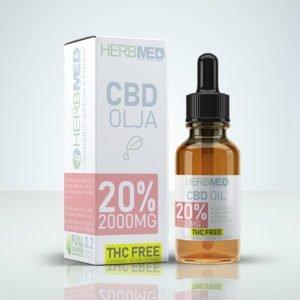 THC Fri CBD Olja