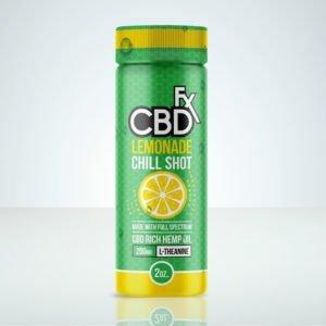 CBD +FX Lemonade CBD Chill Shot 20mg