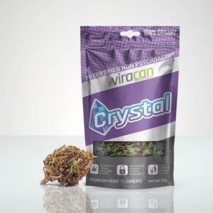 CBD Crystal Viracan Marijuana lagligt