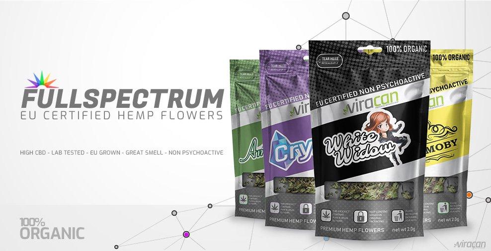 CBD Buds Fullspektrum startpaket hos Herbmed.se