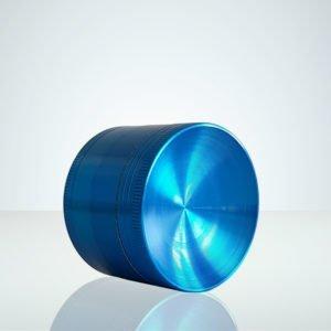Grinder i metall, blå