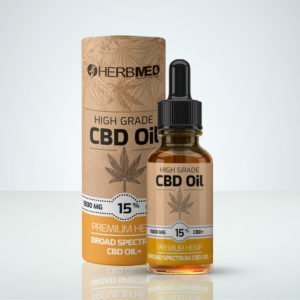 Herbmed High Grade CBD oil 15% THC-free