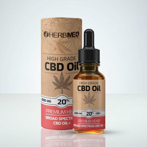 Herbmed High Grade CBD oil 20% THC-free