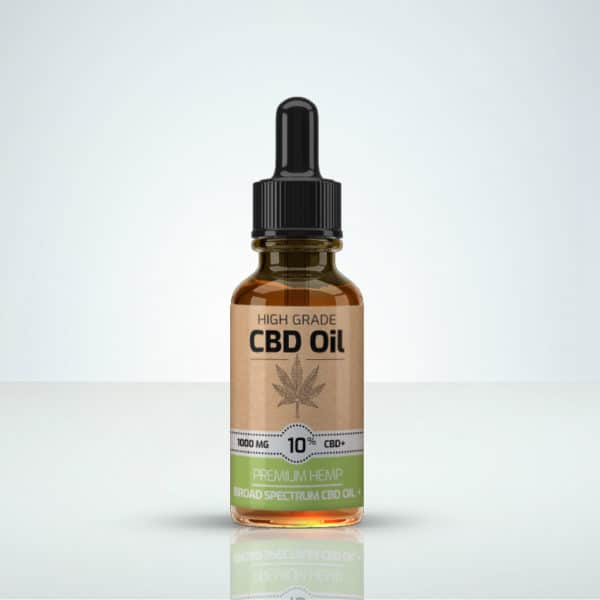 Herbmed High Grade CBD oil 10% THC-free