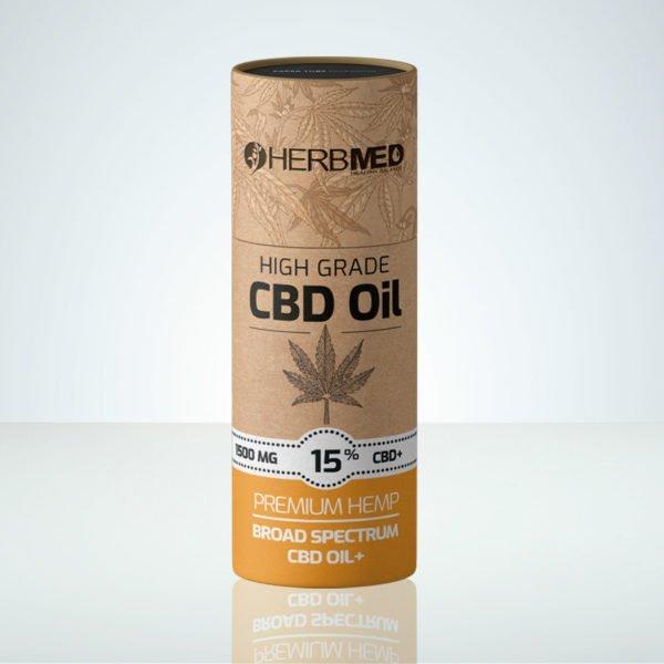 Herbmed High Grade CBD oil 15% THC-free