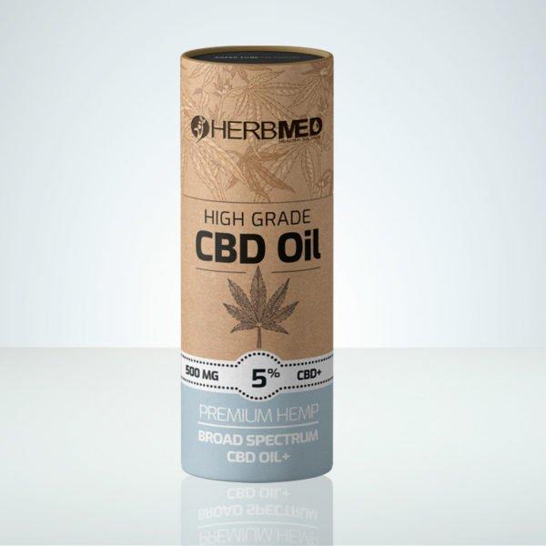Herbmed High Grade CBD oil 5% THC-free