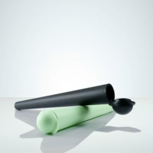 CIgarette Cone Holders, black, green