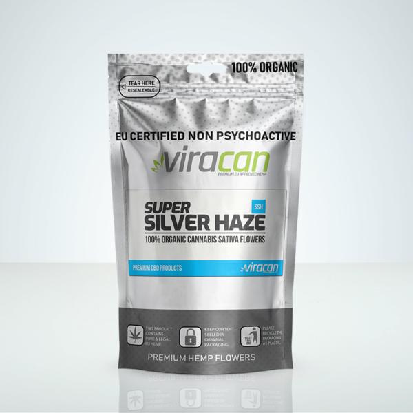 Super Silver Haze - CBD Buds - Herbmed.se