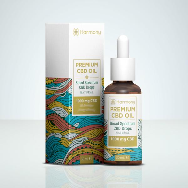 Harmony CBD olja 1000mg 30ml på Herbmed.se