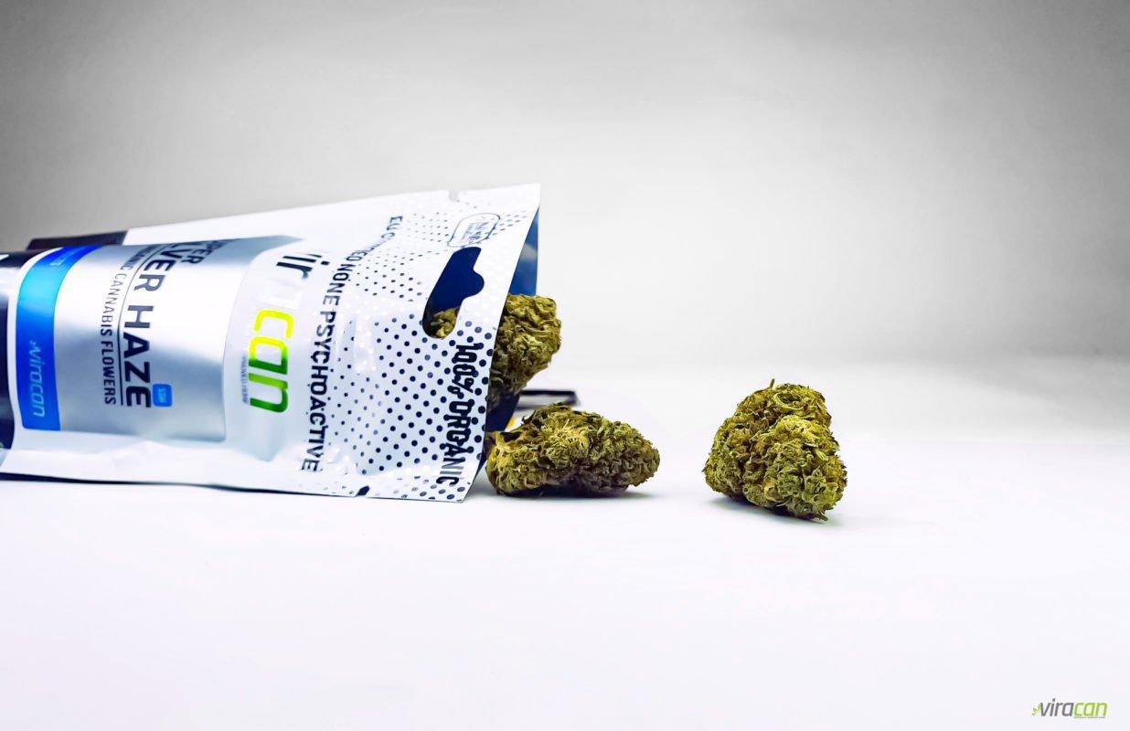 Super Silver Haze - CBD Buds Herbmed.se