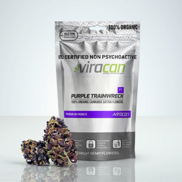 Purple Trainwreck CBD Cannabis