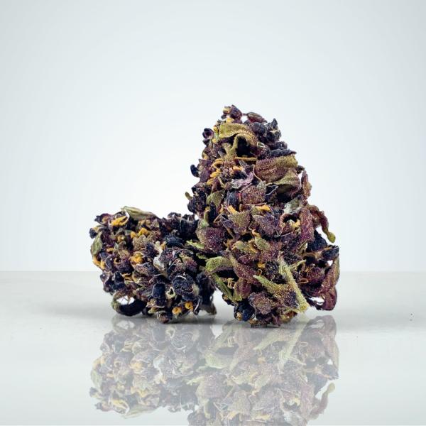 Purple Trainwreck laglig cannabis i Sverige på Herbmed