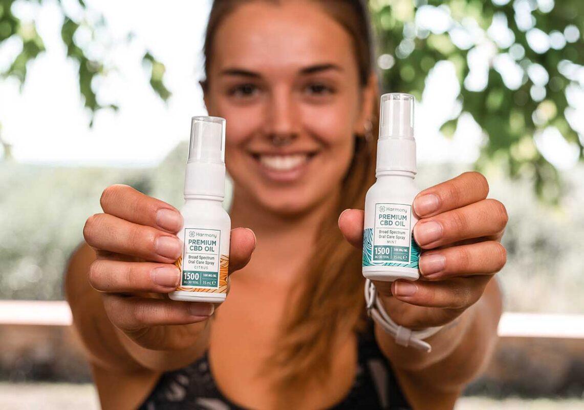 Harmony CBD Spray - Potent Formulations