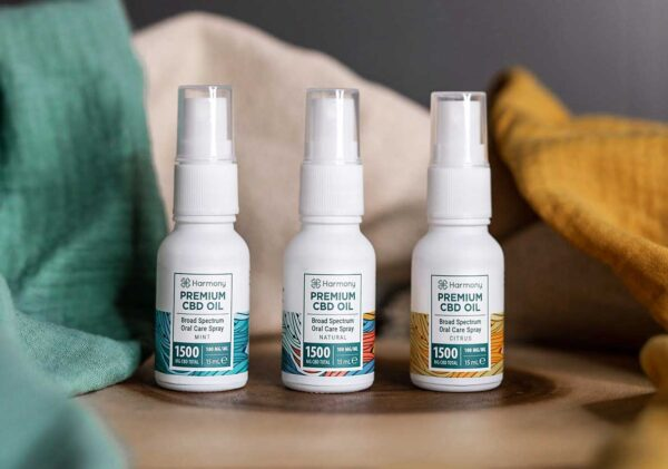 Harmony CBD Spray - Tasty Aromas