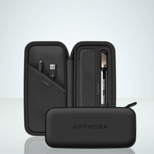 Amphora Vape Pen Case In Vegan Leather