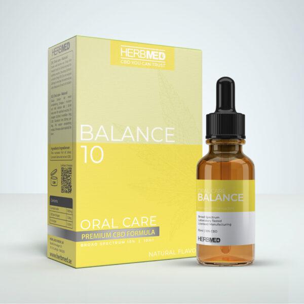 Herbmed Balance 10 CBD Oil
