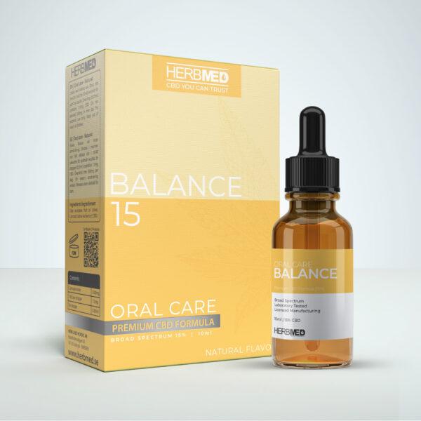 Herbmed Balance 15 CBD Oil