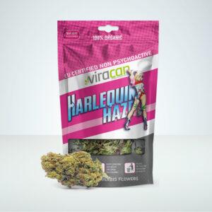 harleqion-haze-viracan-buds-bag-cbd-cannabis-hemp
