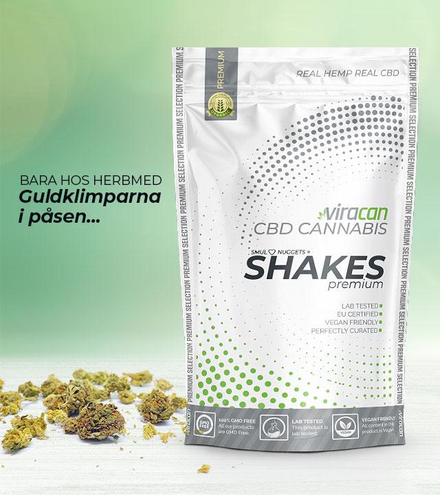 cbd buds shakes cannabis sverige